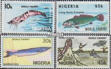 nigeria 421-424 (complète edition) neuf avec gomme originale 1983 pêche