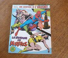 UNE AVENTURE DE L'ARAIGNEE - T4 : Le retour de Morbius