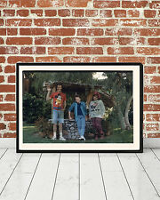 Back to the Future McFly Family Photo Framed Movie Replica Prop Gift Art Print