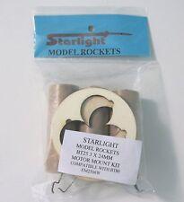 "Model Rocket Engine Mount BT-80 3 x 24mm Laser-Cut Plywood Rings ""NEW"""