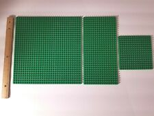 Lego Large Baseplate Lot of 3 City Friends Building Base Plate 32x32 32x16 16x16