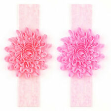 Girl Baby Toddler Lace Flower Headband Hair Band Accessories Headwear UE