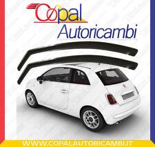 Deflettori Aria Fiat 500 - 3 porte mini deflector farad fumè Antiturbo Antivento