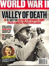 World War II Magazine April 2018 Valley of Death - Hitler Sighting? -Guadalcanal