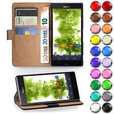 BOOK CASE für SONY XPERIA Schutz Hülle Klapp Etui Flip Cover Handy Tasche Wallet