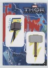 2013 Upper Deck Thor: The Dark World Stickers #T2-8 (Mjolnir / Mjolnir) Card 3j2