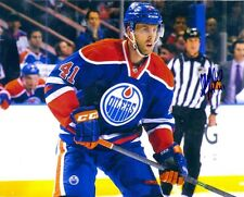 Autographed WILL ACTON Edmonton Oilers 8x10 photo