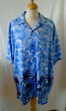Anni'40'50 Stile Rockabilly Hawaiano Camicia Taglia XXL