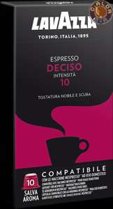 Lavazza 100 capsule Espresso Deciso compatibili Nespresso