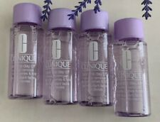 4 Clinique Take The Day Off Makeup Remover for lids, lashes & lips 1.7oz/50ml ea
