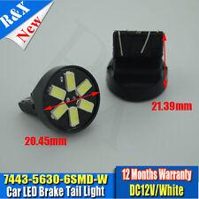 1pcs White Car LED T20 7443 7440 5630 6 SMD Turn Signal Headlight Bulbs Lamp 12V