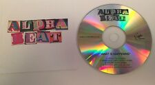 Cd Music Alpha Beat What is Happening 5 track album sampler promo