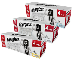 Energizer LED GU10 Downlight Lightbulbs 4.2w 50° Warm / Cool / Daylight - 4 Pack