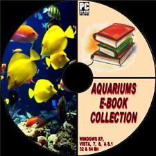10 SUPERB AQUARIUM e:BOOKS COLLECTION ON PC-CD NEW FRESH MARINE & TROPICAL FISH