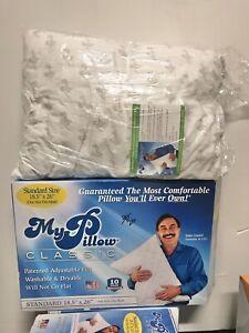 MyPillow Classic standard Size Pillow. New Open Box