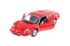 Ferrari Race & Play Dino 246 GTB Hardtop Red 1:24 Diecast Car Bburago 26015