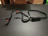 Single AudioQuest Rocket 88 Audiophile Speaker Cables 5' 48V DBS Banana Plug