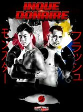 Naoya Monster Inoue vs Nonito Flash Donaire 4LUVofBOXING New Boxing Poster