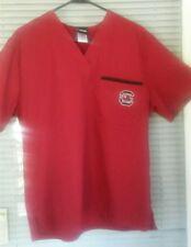 USC Gamecocks Garnet Scrub Short Sleeve Top Size Small (S)