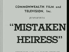 MISTAKEN HEIRESS (1935) DVD ADRIENNE AMES, RALPH BELLAMY