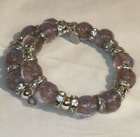 Vintage Italian Murano Glass Beads Bracelet