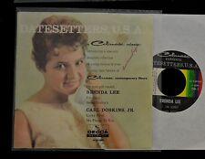 EP Carl Dobkins Jr Brenda Lee Decca 38169 I'm Sorry, Sweet Nothin's