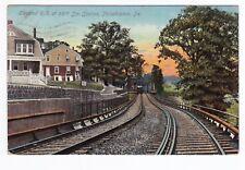 Philadelphia PA - 66TH STREET ELEVATED RAILROAD STATION - Postcard