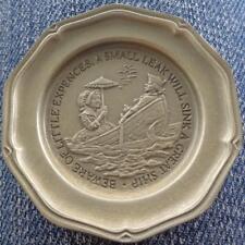 Little Expenses... - Franklin MInt Miniature Collectible Plate - VGC BRONZE