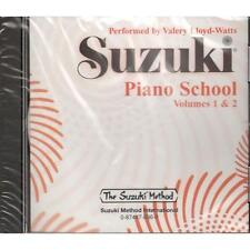 Suzuki Piano School, Volumes 1 & 2-Compact Disc-CD-BRAND NEW ON SALE-SEALED!!