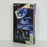 Super Famicom GETSUMEN NO ANUBIS Unused/Faded Nintendo 9089 sf