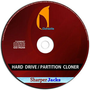 NEW & Fast Ship! Clonezilla Hard Drive Partition & Disk Imaging Cloning Manager