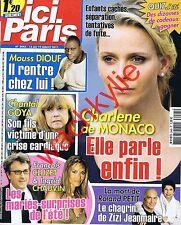 Ici Paris 3445  13/07/2011 Charlène Monaco Roland Petit Goya Mouss Diouf