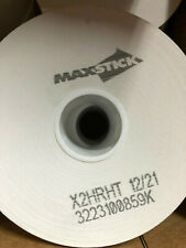 """10x Maxstick max stick X2Hrht 12/21 Label Cup Linerfree 1.5""""x"""