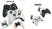 USB Wired / Wireless Gamepad Controller Remote for Xbox 360 / PC windows 7 8 10