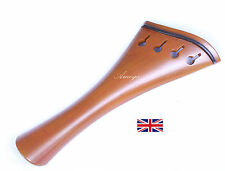 Finest Quality Boxwood Violin Tailpiece - Harp Model