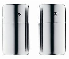 WMF Bel Gusto Salt & Pepper Shaker 2-Piece Set 18/10 Matte Stainless Steel