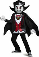 Disguise Vampire Classic Lego Iconic Count Dracula Fancy Dress Halloween Costume
