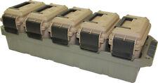 Ammo Crate Storage Box 5 Can Multi-Caliber Bulk Ammunition Utility Free Shipping