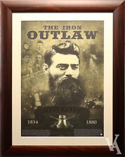NED KELLY THE IRON OUTLAW FRAMED SPECIAL EDITION