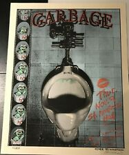 Garbage: Detroit, 1995 Poster by EMEK with Artist Doodle