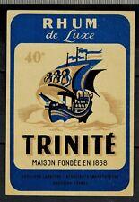 Etiquette - Chromo - Rhum De Luxe 40° - Trinite - Heritiers Lasserre - N°379