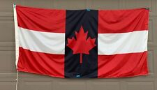 Vtg Large Canada Steamship Lines Great Lakes Freighter Ship Flag