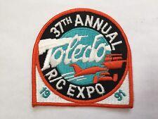 Toledo 1991 RC Expo Patch RC Vintage Model Airplane AMA Ohio