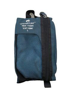 Lifeventure - Trek Towel - Soft Fibre Blue - Large