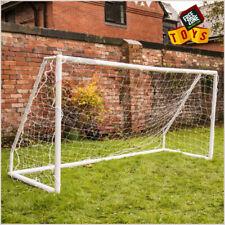 Kids Football Goal Posts with Net Portable 8ft x 4ft Striker Goal Training