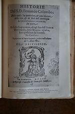 LIBRO HISTORIE VITA CRISTOFORO COLOMBO CADDEO 1930 ALPES MILANO BOOK COLUMBUS