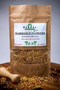 Marigold Dried Herb (Calendula) Flowers Nagietek kwiaty 50g