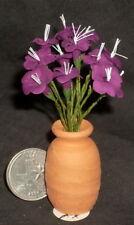 Potted Cut Hibiscus Wine 1:12 Miniature Flower Market P-OH-FIMOx2 #2115 Florist