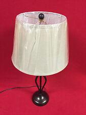 Hampton Bay Rhodes 28 in. Bronze Table Lamp (HD09999TLBRZC)