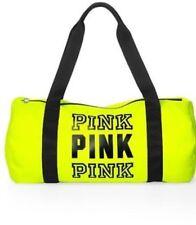 Victoria's Secret PINK Campus Tote Bag Neon Yellow Medium/Large NEW!